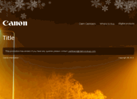 canon-winter-2014-nl-cashback.sales-promotions.com