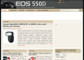 canoneos550d.cz