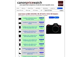 canonpricewatch.com