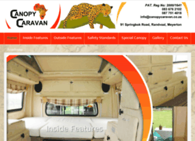 canopycaravan.co.za