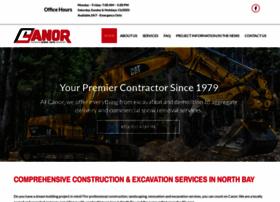 canorconstruction.com