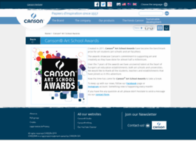 cansonartschoolawards.com