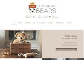 canterburybears.com