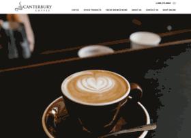 canterburycoffee.com
