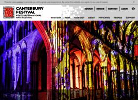 canterburyfestival.co.uk