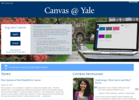 canvas.yale.edu