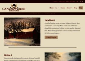 canvasworksfloorcloths.com