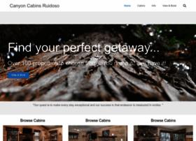 canyoncabinsruidoso.com
