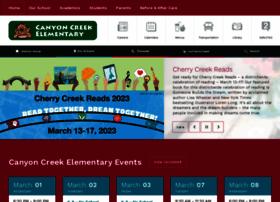 canyoncreek.cherrycreekschools.org