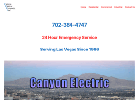 canyonelectric.com