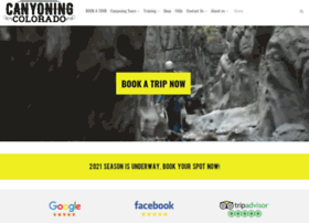 canyoningcolorado.com