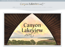 canyonlakeviewresort.com