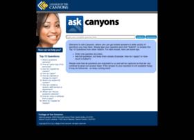 canyons.intelliresponse.com