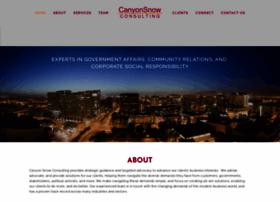 canyonsnow.com