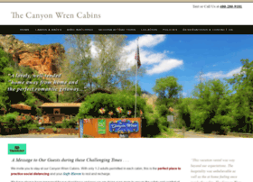 canyonwrencabins.com