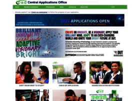 cao ac za cao home the cao central applications office is a