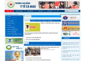 caodangyte.camau.gov.vn