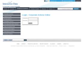 caonline.interactivedata.com