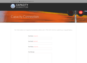 capacityconnection.com