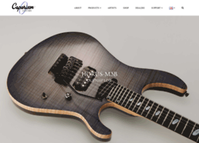 caparisonguitarcompany.com