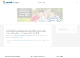 capdsupport.org