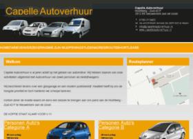 capelleautoverhuur.nl