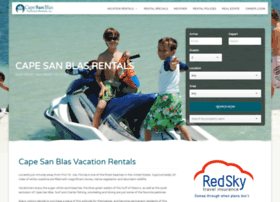 capesanblasvacationrentals.com