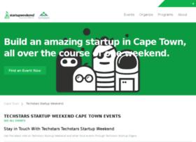 capetown.startupweekend.org