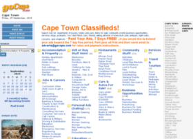 capetownclassifieds.gocape.com