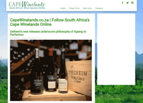 capewinelands.co.za