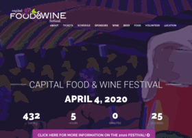 capitalfoodandwinefestival.com