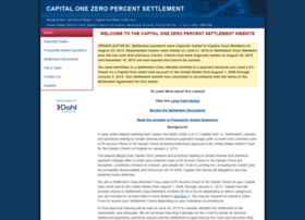capitalonezeropercentsettlement.com