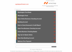 capitalpacificbank.com