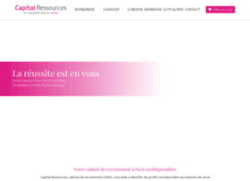 capitalressources.com