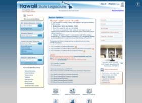 capitol.hawaii.gov
