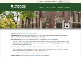 capitolhillbaptist.com