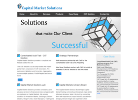 capmarketsolutions.com