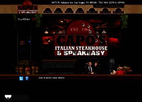 caposrestaurant.com