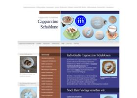 cappuccino-schablone.de