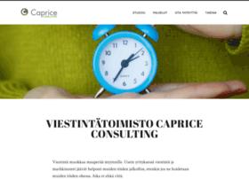 capriceconsulting.fi