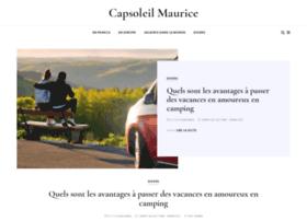 capsoleil-maurice.com