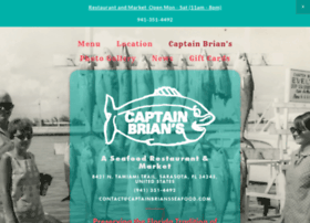 captainbriansseafood.com