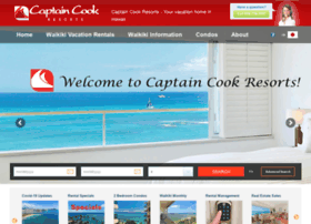 captaincookresorts.com