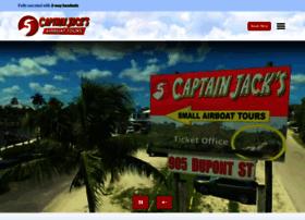 captainjacksairboattours.com