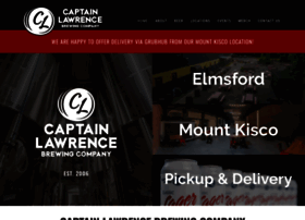 captainlawrencebrewing.com