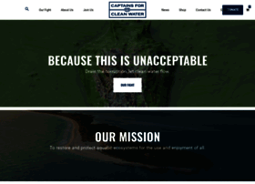 captainsforcleanwater.org