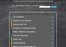 car-donation-4tax-credit.com
