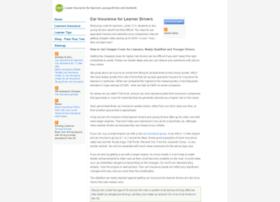car-insurance-for-learner-driver.com
