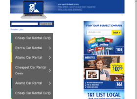 car-rental-desk.com