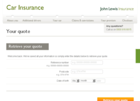 car.johnlewis-insurance.com